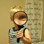自分をみつめる自分をみつける鏡探し