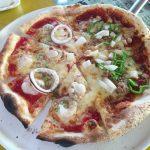 函館市ピザ食べ放題のアモリーノに行ってきました!海の沿いのお店がかわいらしいお店でした